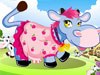 Farm Cow Dress Up Game