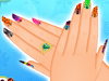 Decorating Finger Nail Game